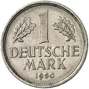 1 Deutsche Mark (Pattern) – reverse