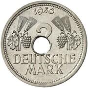 2 Deutsche Mark (Pattern) – reverse