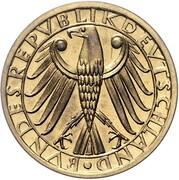 5 Deutsche Mark (Pattern) – obverse