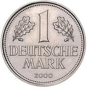1 Deutsche Mark (Mark Retirement - Pattern) – reverse