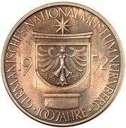 5 Deutsche Mark (Germanic Museum - Pattern) -  obverse