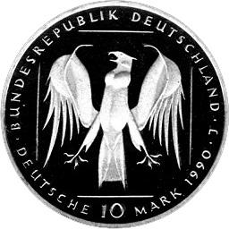 10 Deutsche Mark 800 Years Teutonic