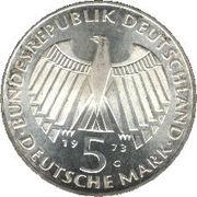 5 Deutsche Mark (Frankfurter Nationalversammlung) -  obverse