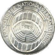 5 Deutsche Mark (Frankfurter Nationalversammlung) -  reverse
