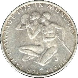10 Deutsche Mark 1972