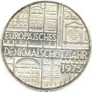 5 Deutsche Mark (Europäisches Denkmalschutzjahr) -  reverse