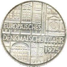 5 deutsche mark europ isches denkmalschutzjahr germany. Black Bedroom Furniture Sets. Home Design Ideas