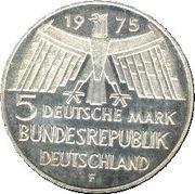 5 Deutsche Mark (Europäisches Denkmalschutzjahr) -  obverse