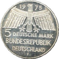 5 Deutsche Mark Europäisches Denkmalschutzjahr