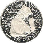 5 Deutsche Mark (Walther von der Vogelweide) -  reverse