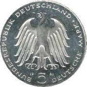 5 Deutsche Mark (Freiherr vom Stein) -  obverse
