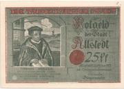 25 Pfennig (Millennial Series - Issue 2: Müntzer) – obverse