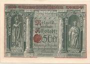 50 Pfennig (Millennial Series - Issue 6: Heinrich IV + Lothar) – obverse