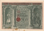 50 Pfennig (Millennial Series - Issue 8: Heinrich VI + Philipp) – obverse