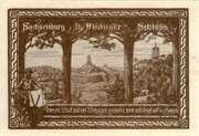 50 Pfennig (Millennial Series - Issue 3: Heinrich I + Otto I) – reverse