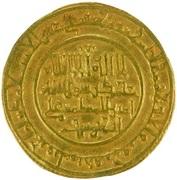 Dinar - 'Ali b. Yusuf - 1106-1143 AD – obverse