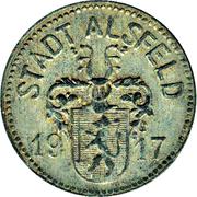10 Pfennig - Alsfeld – obverse