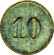 10 Pfennig - Alsfeld – reverse