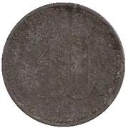 10 Pfennig - Altdorf – reverse