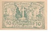 10 Heller (Altenberg) -  obverse