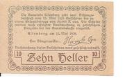 10 Heller (Altenberg) -  reverse