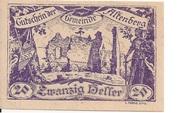 20 Heller (Altenberg) -  obverse