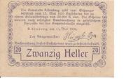 20 Heller (Altenberg) -  reverse