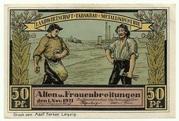 50 Pfennig (Sights Series - Bauernhof in Altenbreitungen) – obverse
