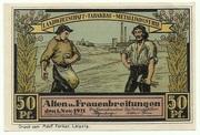 50 Pfennig (Sights Series - Bauernhof in Frauenbreitungen) – obverse