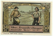 50 Pfennig (Sights Series - Kirche in Frauenbreitungen) – obverse