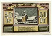 50 Pfennig (Sights Series - Kapelle in Altenbreitungen) – reverse
