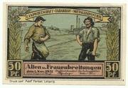 50 Pfennig (Sights Series - Flügelaltar in Frauenbreitungen) – obverse
