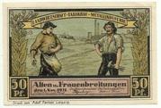 50 Pfennig (Sights Series - Blick von der Werrabrücke) – obverse