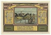 50 Pfennig (Sights Series - Blick von der Werrabrücke) – reverse