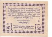 50 Heller (Altenburg) -  reverse