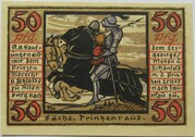 50 Pfennig (Prinzenraub Series) – reverse
