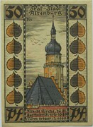 50 Pfennig (Skat Series - Bartholomäikirche) – reverse