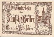50 Heller (Altenfelden) -  obverse