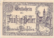 50 Heller (Altenfelden) – obverse