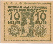 10 Heller (Altenmarkt a. d. Ysper) – obverse