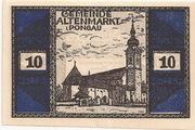 10 Heller (Altenmarkt im Pongau) – obverse
