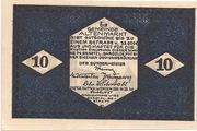 10 Heller (Altenmarkt im Pongau) – reverse
