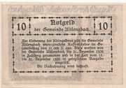 10 Heller (Altlengbach) – reverse