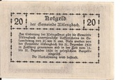 20 Heller (Altlengbach) – reverse