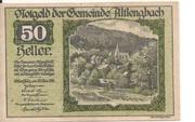 50 Heller (Altlengbach) -  obverse