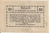 50 Heller (Altlengbach) -  reverse