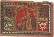 50 Pfennig (Landesbürgerrat Schleswig-Holstein) – reverse