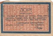 50 Pfennig (Landesbürgerrat Schleswig-Holstein) – obverse