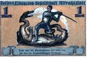 1 Mark (Detlev v. Liliencron Gesellschaft) – obverse