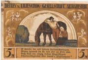 5 Mark (Detlev v. Liliencron Gesellschaft) – obverse